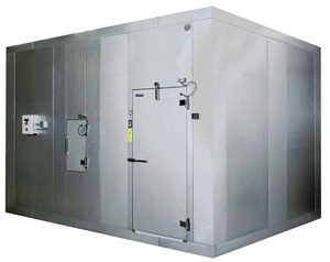 Medical-grade walk-in coolers and freezers